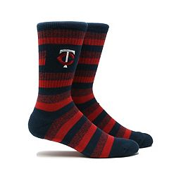 Men's Minnesota Twins Steps Crew Socks