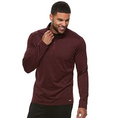 Men's Tek Gear Stretch Quarter-Zip Top