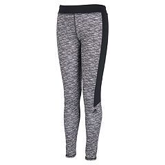 Girls 4-6x adidas Climalite Space-Dye Colorblock Leggings