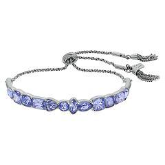 Simply Vera Vera Wang Purple Bolo Bracelet