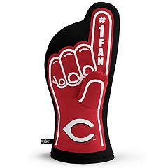 Cincinnati Reds Number One Fan Oven Mitt
