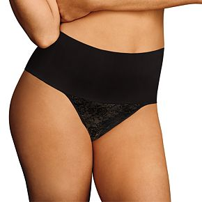 Women's Maidenform Tame Your Tummy Lace Thong DM0049