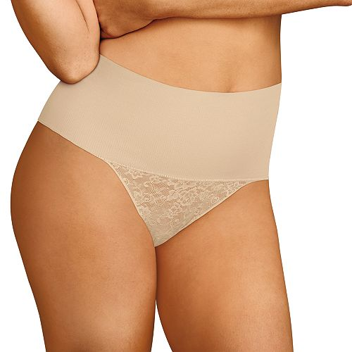 2c16cabae4 Women s Maidenform Maidenform Tame Your Tummy Lace Thong DM0049