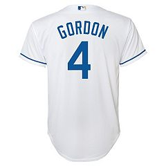 Boys 8-20 Kansas City Royals Alex Gordon Home Replica Jersey