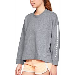 Women's Under Armour Rival Fleece Cropped Sweatshirt
