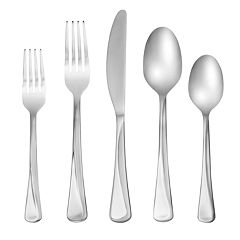 Cambridge Glenda 42-piece Flatware Set with Caddy