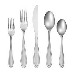 Cambridge Yardena 42-piece Flatware Set with Caddy