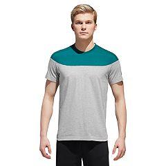 Men's adidas Shoulder-Striped Tee