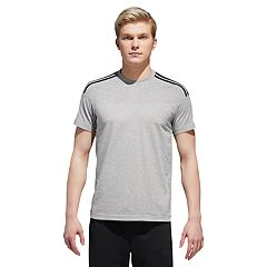 Men's adidas Shoulder-Striped Tee