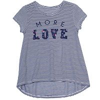 Girls 7-16 & Plus Size Harper & Elliott High-Low Graphic Tee