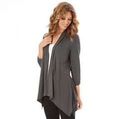 Women's Apt. 9® Shark-Bite Cardigan