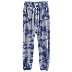 Girls Plus Size SO® Cinched Cuff Sweatpants
