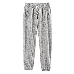 Girls 7-16 Size SO® Cinched Cuff Sweatpants
