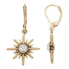Simply Vera Vera Wang Simulated Crystal Starburst Drop Earrings
