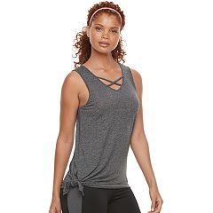 Women's Tek Gear® Strappy Side Tie Tank