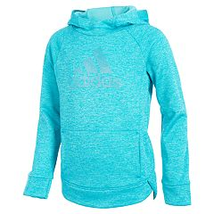 Girls 4-6x adidas Climalite Logo Hooded Pullover