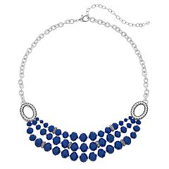 Napier Short Layered 3-Row Necklace