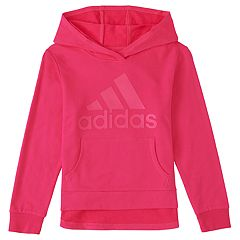 Girls 4-6x adidas High-Low Hem Graphic Hoodie