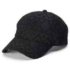 Women's FILA SPORT Perforated Geometric Baseball Cap