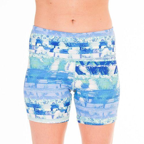 90 Degree by Reflex Print Me Workout Shorts - Women's