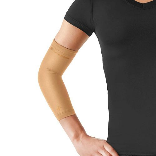 7711094fbaf669 Women's Tommie Copper Recovery Compression Elbow Sleeve