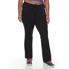 Plus Size FILA SPORT Zip Pocket Pant