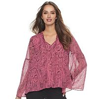 Women's Jennifer Lopez Shirred Top