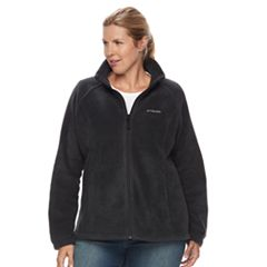 8d0bc402e3552 Plus Size Columbia Three Lakes Fleece Jacket