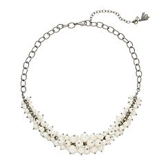 Simply Vera Vera Wang Simulated Pearl Statement Necklace