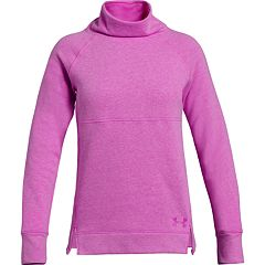 Girls 7-16 Under Armour Rival Fleece Slouchy Long Sleeve Top