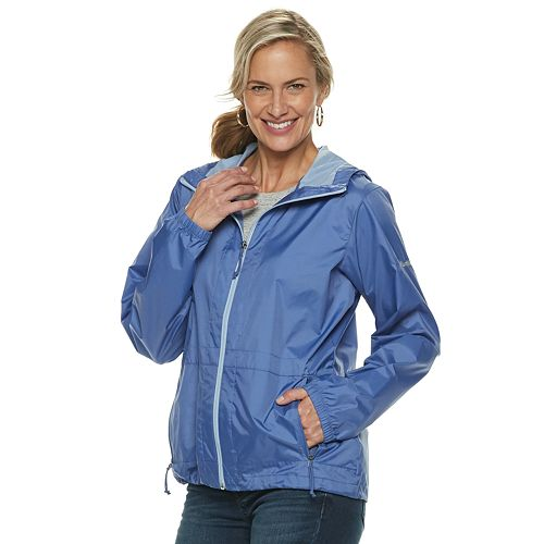 the sale of shoes choose genuine online Women's Columbia Rain to Fame Hooded Rain Jacket