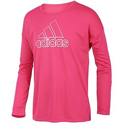Girls 4-6x adidas Graphic Vented-Hem Tee