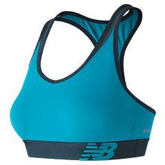 New Balance Bras: Pace Solid Medium-Impact Sports Bra WB71034