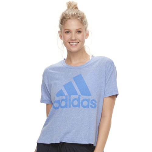 Women's Adidas Short Sleeve Graphic Tee by Kohl's