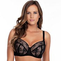 Parfait Bras: Estelle Lace Full-Figure Padded Bra P5231