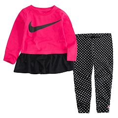 Baby Girl Nike Peplum Tunic & Leggings Set