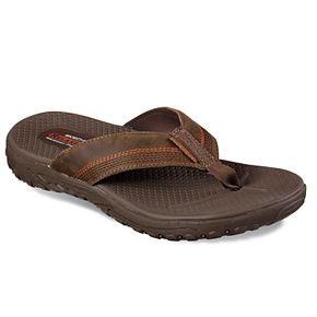 from china cheap price Skechers Relaxed Fit Reggae ... Cobano Men's Flip Flop Sandals great deals sale online 7h1IdbUC