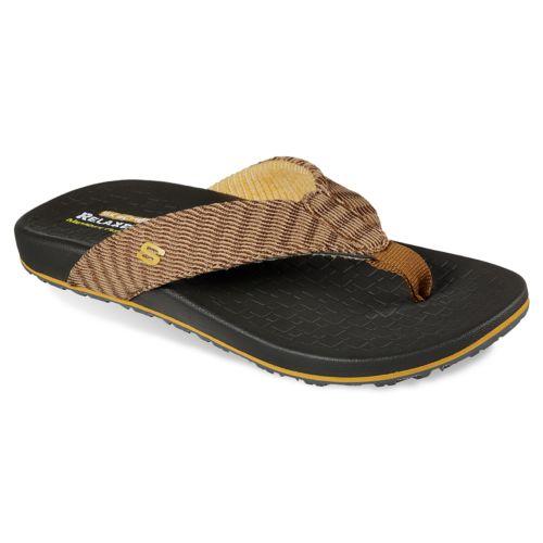 Skechers Relaxed Fit Velmen ... Erever Men's Flip Flop Sandals