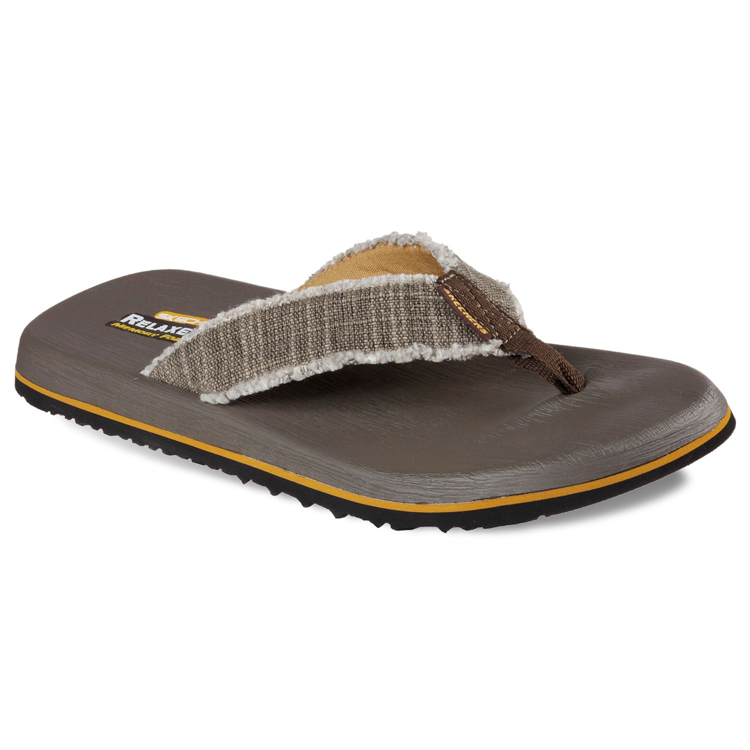 skechers relaxed fit flip flops
