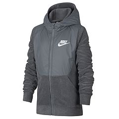 Boys 8-20 Nike Club Seasonal Full-Zip Hoodie