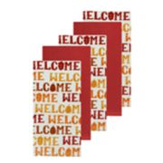 Celebrate Fall Together Welcome Toss Kitchen Towel 5-pack