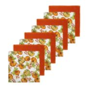 Celebrate Fall Together Pumpkin Toss Dishcloth 8-pack