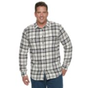 Big & Tall SONOMA Goods for Life? Slim-Fit Supersoft Flannel Button-Down Shirt
