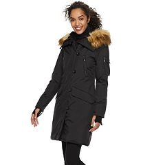 Women's S13 Faux-Fur Hooded Long Anorak Down Parka