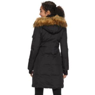 Women's S13 Faux-Fur Hooded Long Anorak Down Parka