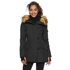 Women's S13 Faux-Fur Hooded Anorak Down Parka