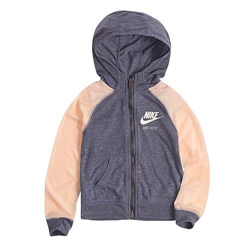 4aee486ec558 Toddler Girl Nike Gym Vintage Hoodie