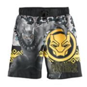 Boys 4-7 Marvel Black Panther Swim Trunks