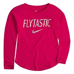 Toddler Girl Nike 'Flytastic' Graphic Top