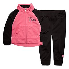 Baby Girl Nike Jacket & Pants Track Suit Set